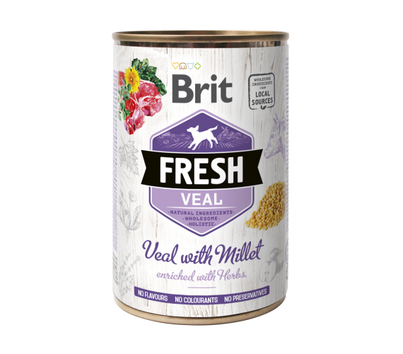 Brit® Fresh Veal With Millet