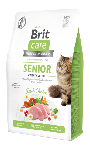 Brit Care® Cat GF Senior Weight Control