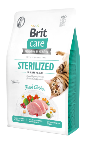 Brit Care® Cat GF Sterilized Urinary Health