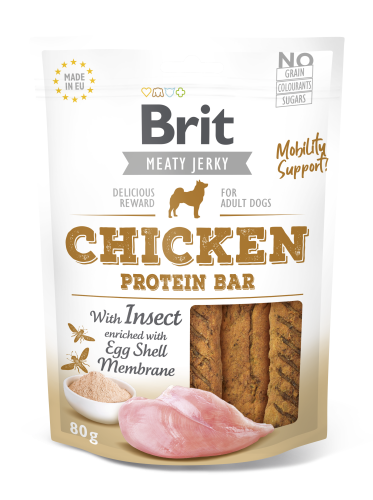 Brit® Dog Jerky Protein Bar Chicken with Insect