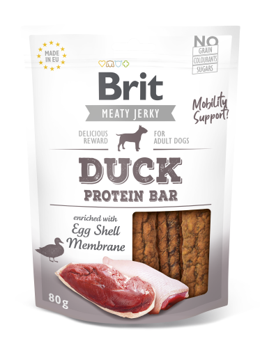 Brit® Dog Jerky Protein Bar Duck