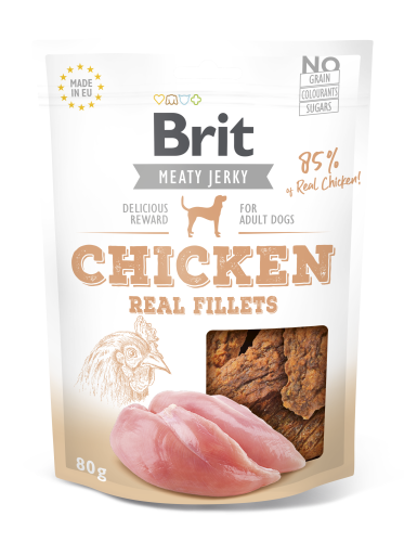 Brit® Dog Jerky Real Fillets Chicken